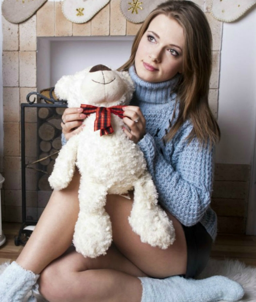 BingBabe with teddy